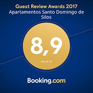 Guest Review Awards 2017 - 8,9 de 10